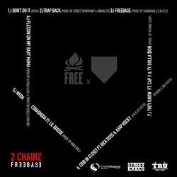 2 Chainz FreeBase EP Back Cover
