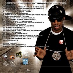 DJ 2Mello America's Pimp Dirty South Edition Back Cover