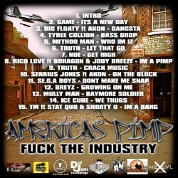 DJ 2Mello F*ck The Industry Back Cover