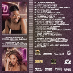 DJ 2Mello Undercover R&B 'Crown Me King' Back Cover