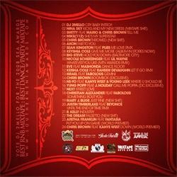 DJ 2Mello Undercover RnB Musical Massacre Back Cover