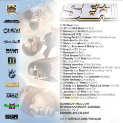 DJ 2Mello Undercover RnB, SEA Edition Back Cover