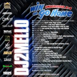 DJ 2Mello Undercover RnB 'Win Or Go Home' Back Cover