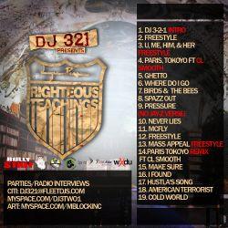 DJ 3-2-1 Lupe Fiasco 'Righteous Teachings' Back Cover