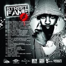 DJ 3-2-1 Street Fame II Back Cover