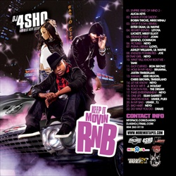 DJ4Sho Keep It Movin RNB Front Cover
