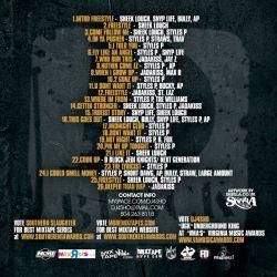 DJ4Sho Menace 2 The Industry Vol. 2 'D-Block Edition' Back Cover