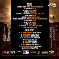 DJ 4Sho & DJ Sureshot Team Work Back Cover