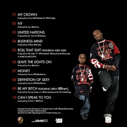 50 Cent 5 (Murder By Numbers) Back Cover