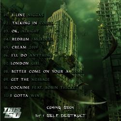 50 Cent War Angel Back Cover