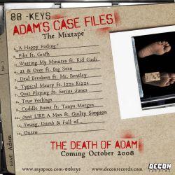 88 Keys Adam's Case Files Back Cover
