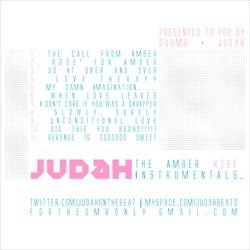 Judah & Dub MD Amber Rose Instrumentals Back Cover