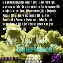 RaTheMC Are You Not Entertained? Back Cover