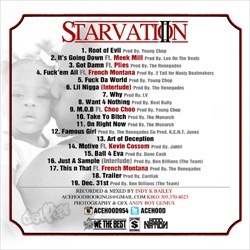 Ace Hood Starvation 2 Back Cover