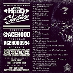 Ace Hood Starvation Back Cover