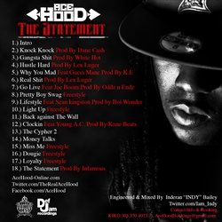 Ace Hood The Statement Back Cover
