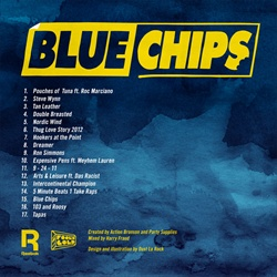 Action Bronson Blue Chips Back Cover