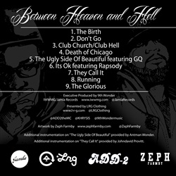 Add-2 & Khrysis Between Heaven And Hell Back Cover