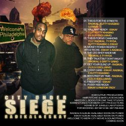 Aleet Ent. City Under Siege Back Cover