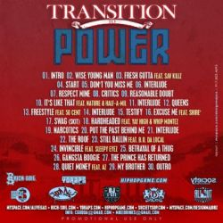 Ali Vegas Transition To Power Back Cover