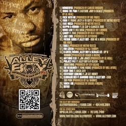 Alley Boy Definition Of F*ck Shit 2 Back Cover