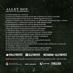 Alley Boy The Gift of Discernment Back Cover