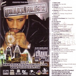 DJ Ant Live Crakk Files Vol. 2 Back Cover