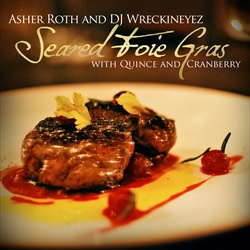 Seared Foie Gras With Quince & Cranberry Thumbnail