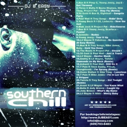 DJ B Easy Southern Chill Back Cover