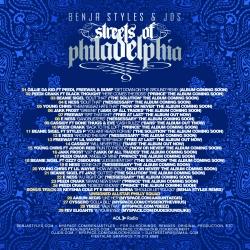 Benja Styles The Streets Of Philadelphia Back Cover