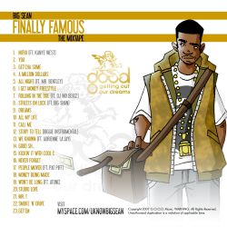 Big Sean Finally Famous Back Cover