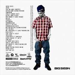 Mick Boogie & Big Sean UKNOWBIGSEAN Back Cover