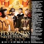 DJ Biz It's Bizness Never Personal