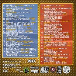 DJ Black Jesus Ain't Doin' Dis Sh*t Fa' Nothin' Back Cover