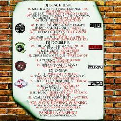 DJ Black Jesus, DJ Double R & DJ D-New Can't Stop The Hustle Back Cover