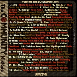 Talib Kweli & Year of The Blacksmith The Community Back Cover