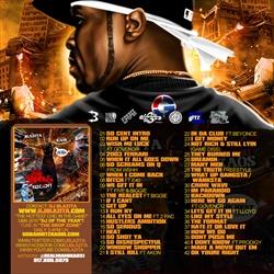 DJ Blazita & 50 Cent Last Man Standing Back Cover