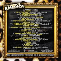 RapHead.com & DJ Blazita Coming To America Back Cover