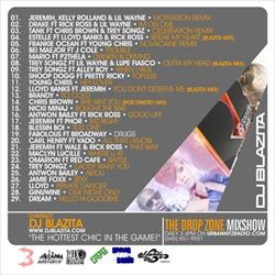 DJ Blazita R&B Summer Jams Back Cover