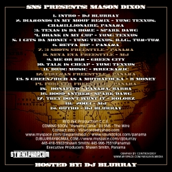 DJ Blurray Mason Dixon Back Cover