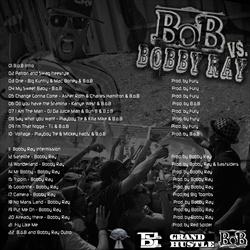 B.O.B & DJ Green Lantern B.O.B. Vs. Bobby Ray Back Cover