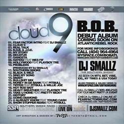 DJ Smallz & B.O.B. Cloud 9 Back Cover
