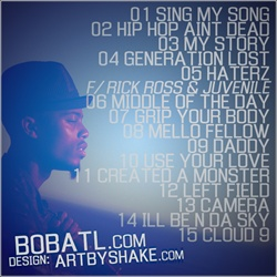 B.O.B. Should Have Been the First Album Back Cover