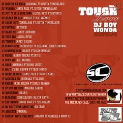 DJ Boy Wonda Tough Love Vol. 11 Back Cover