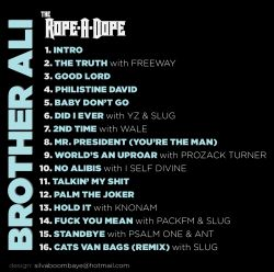 Brother Ali The Rope-A-Dope Back Cover
