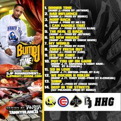 DJ Sean Mac & Bump J Dinner Time Back Cover