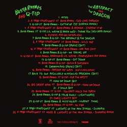 Busta Rhymes & Q-Tip The Abstract and The Dragon Back Cover