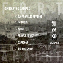Camp Lo & Ski Beatz Fort Apache Back Cover