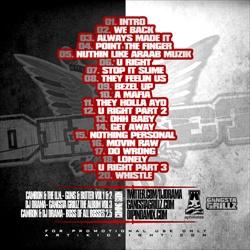 DJ Drama & Cam'ron Boss Of All Bosses Back Cover