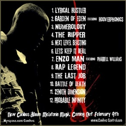 Canibus Death Wish Back Cover